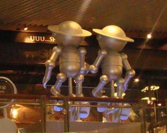 美陈雕塑绝世高手新视觉影院:十二星座玻璃